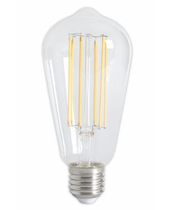 Calex ST64 LED Filament Rustic lamp Clear