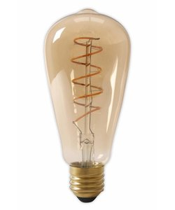 Calex ST64 flex LED lamp Gold