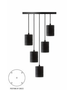 Calex pendant set 5x E40 hangfitting