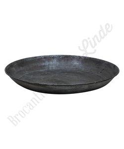 Metalen dienblad/schaal - Rond