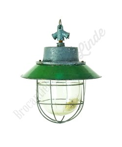 Stoere industriele hanglamp 'Maly Caged'