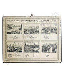 Vintage schoolplaat 'Natuur No. 10'