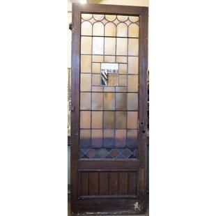 243 x 88 cm - Glas in lood deur No. 12