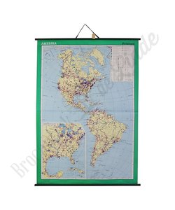 Oude landkaart 'Amerika'