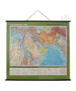 Oude landkaart 'Zuidwest-Azië'