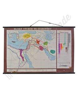 Oude landkaart 'Dichtbij het Oosten'