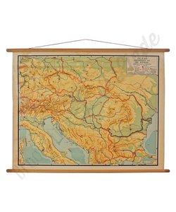 Vintage landkaart 'De Donau'