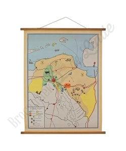 Vintage landkaart 'Groningen'