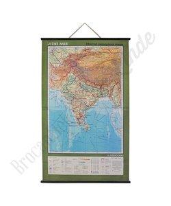 Vintage landkaart 'Zuid-Azië'