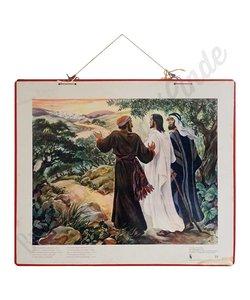Historische bijbelplaat 'Vreemdeling '