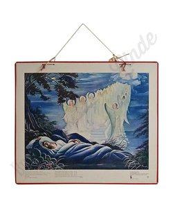 Historische bijbelplaat 'Droom van Jacob'
