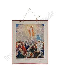 Historische bijbelplaat 'Jezus in de hemel'