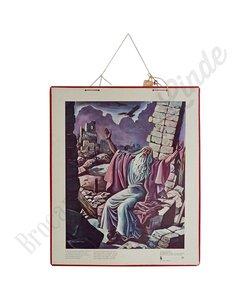 Historische bijbelplaat 'Jeremias'