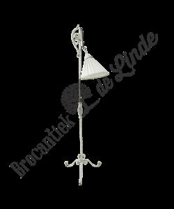 Oude Brocante vloerlamp