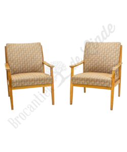 Vintage fauteuil 'Beige'
