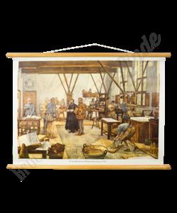 """Historische schoolplaat """"Plantijn"""""""