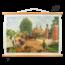 """Historische schoolplaat """"Een buitenplaats aan de Vecht (1740)"""""""