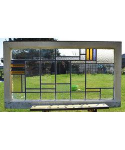 66 x 116 cm - Glas in lood raam No. 165