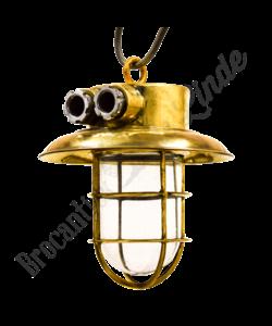 Messing hanglamp 'Mosaz'