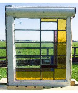 56 x 67 cm - Glas in lood raam No. 188