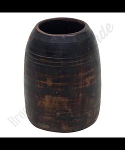 Vintage houten vaas No. 4