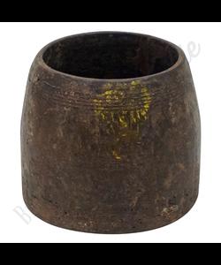Vintage houten vaas No. 8