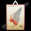 Tsjechische schoolplaat 'Anatomische weergeving van de vogel'