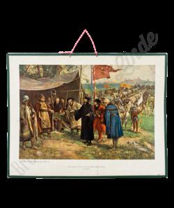 Historische schoolplaat (Nederzetting Zizkou)