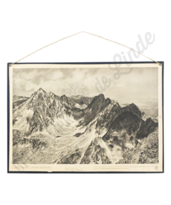 Schoolplaat landschap (Hoge tatra)