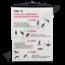Schoolplaat geslachtsdelen No. 6 (Oefeningen om menstruatiepijn te verwijderen)