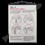 Schoolplaat geslachtsdelen No. 4 (Menstruatiecyclus)