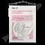 Schoolplaat geslachtsdelen No. 8 (Interne hygiënische bescherming tijdens de menstruatie)