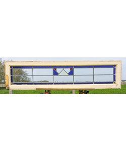 38 x 155,5 cm - Glas in lood raam No. 194