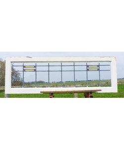47 x 144 cm - Glas in lood raam No. 201