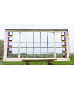 71 x 143 cm - Glas in lood raam No. 207