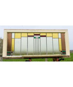 54 x 120 cm - Glas in lood raam No. 209