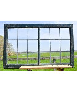 67,5 x 106,5 cm - Glas in lood raam No. 212