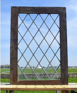 68 x 48 cm - Glas in lood raam No. 217