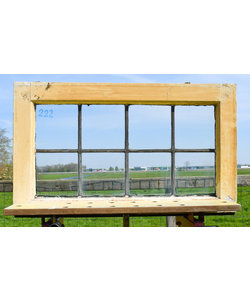 45 x 75 cm - Glas in lood raam No. 222
