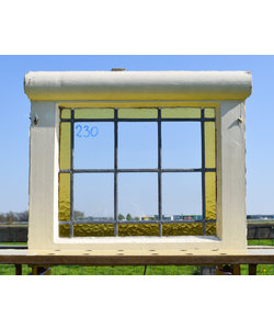 46 x 52,5 cm - Glas in lood raam No. 230