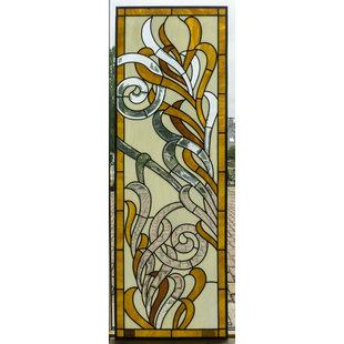 182 x 62 cm - Glas in lood raam Indonesië No. 1