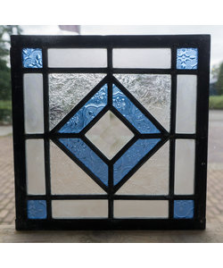 20 x 20 cm - Glas in lood raam Indonesië No. 29