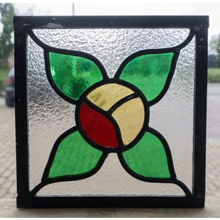 20 x 20 cm - Glas in lood raam Indonesië No. 30
