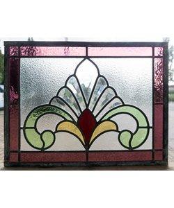31 x 41 cm - Glas in lood raam Indonsië No. 35