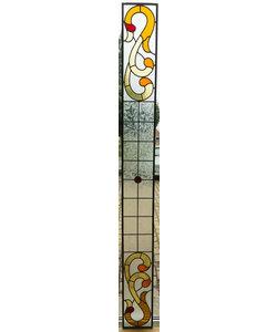 22 x 212,5 cm - Glas in lood raam Indonesië No. 46