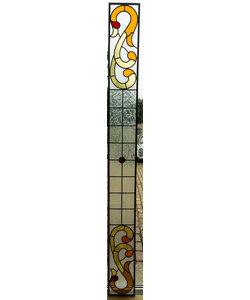 21 x 213 cm - Glas in lood raam Indonesië No. 48