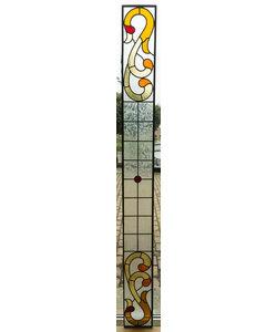 21 x 212,5 cm - Glas in lood raam Indonesië No. 49