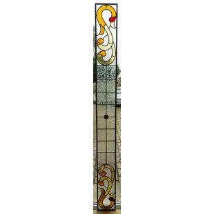 21,5 x 218 cm - Glas in lood raam Indonesië No. 52