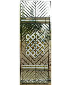 59,5 x 179,5 cm - Glas in lood raam Indonesië No. 53