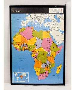 Landkaart Afrika - Ijsbeer